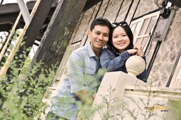 DIY pre-wedding photography at Fraser's Hill