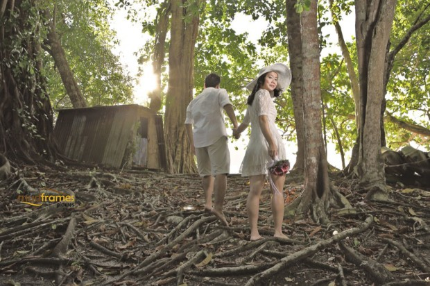 DIY pre-wedding photography at Pulau Pangkor