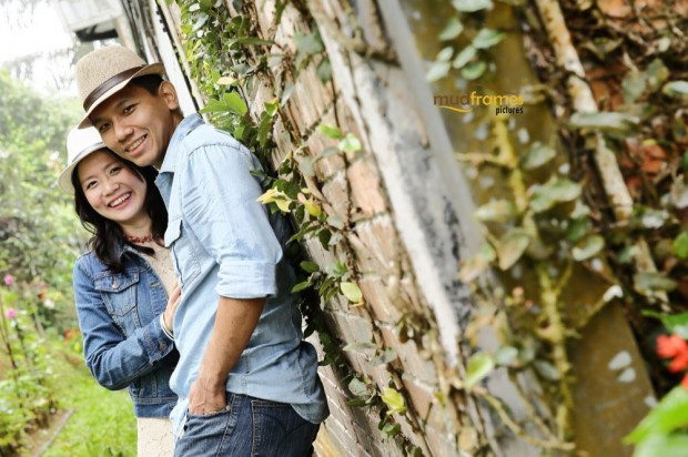 DIY pre-wedding photography at Ye Olde Smokehouse, Fraser's Hill