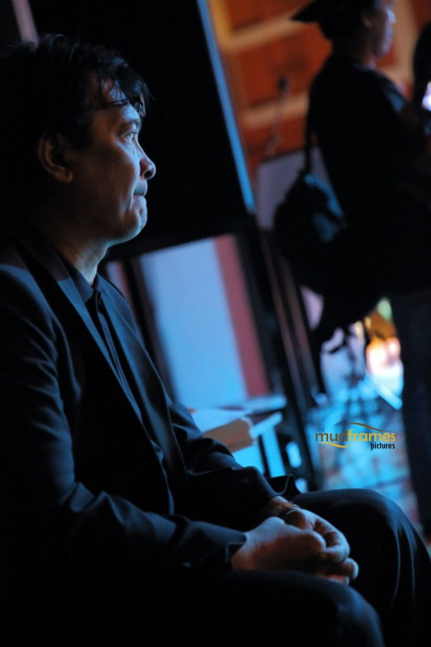 Dr. Mohd. Nasir Hashim during the KL International Jazz Festival 2014 at University Malaya's Experimental Theatre