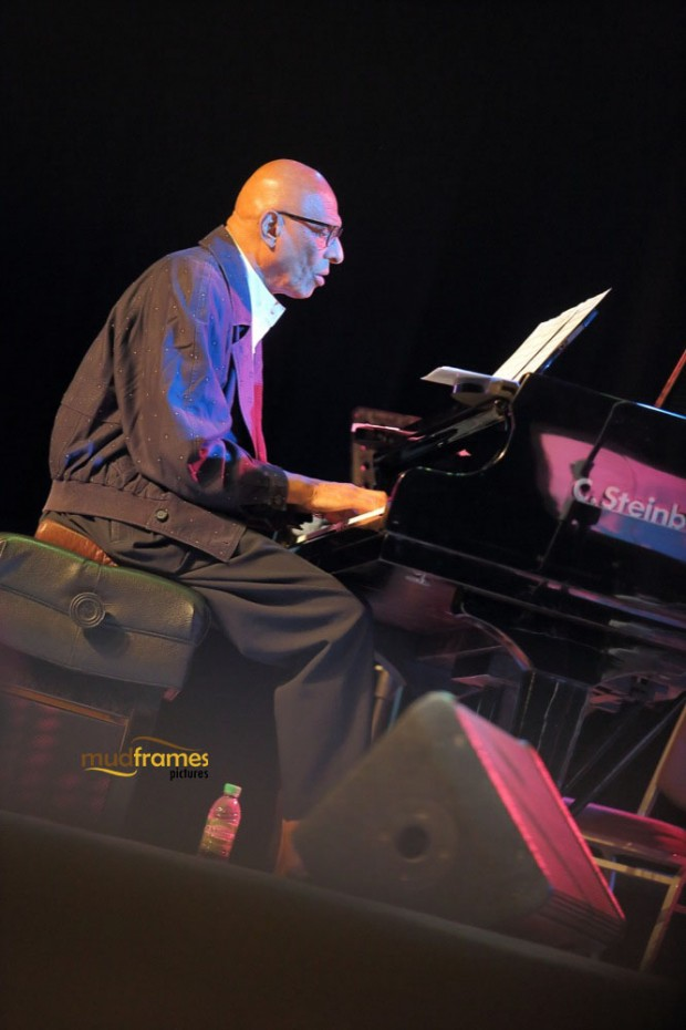 Kirk Lightsey performing at KL International Jazz Festival 2014 at University Malaya's Experimental Theatre