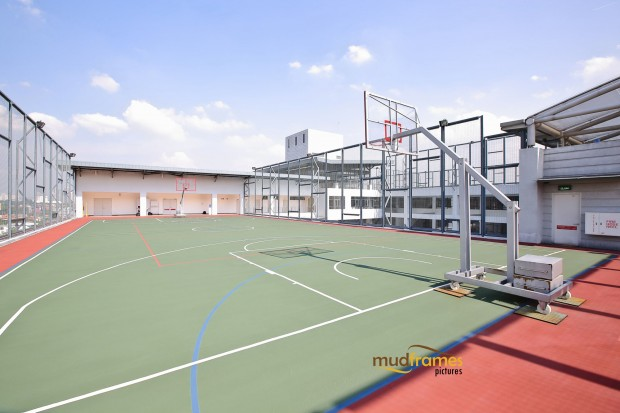 Basketball court at the British International School of Kuala Lumpur