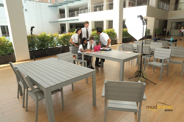 BTS: Commercial photo shoot at the British International School of Kuala Lumpur
