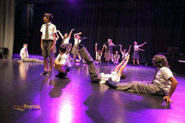 Students during drama class at the British International School of Kuala Lumpur
