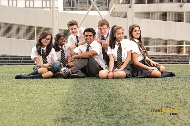 Students of the British International School of Kuala Lumpur