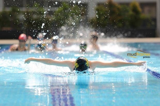 Students swimming at the British International School of Kuala Lumpur