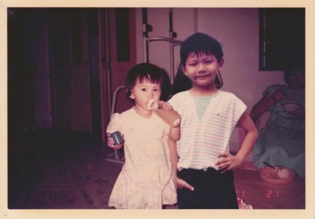 Lost childhood photographs