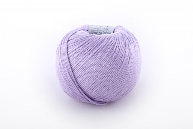Product photography of a ball of yarn