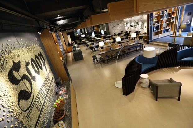 Scoop cafeteria at Menara Dion, Kuala Lumpur