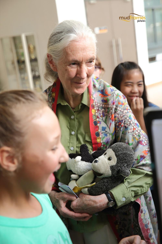 Jane Goodall visits Malaysia