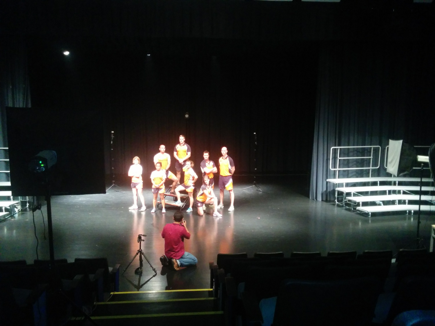 BTS: Special group pictures and lighting setup at The British School of Kuala Lumpur