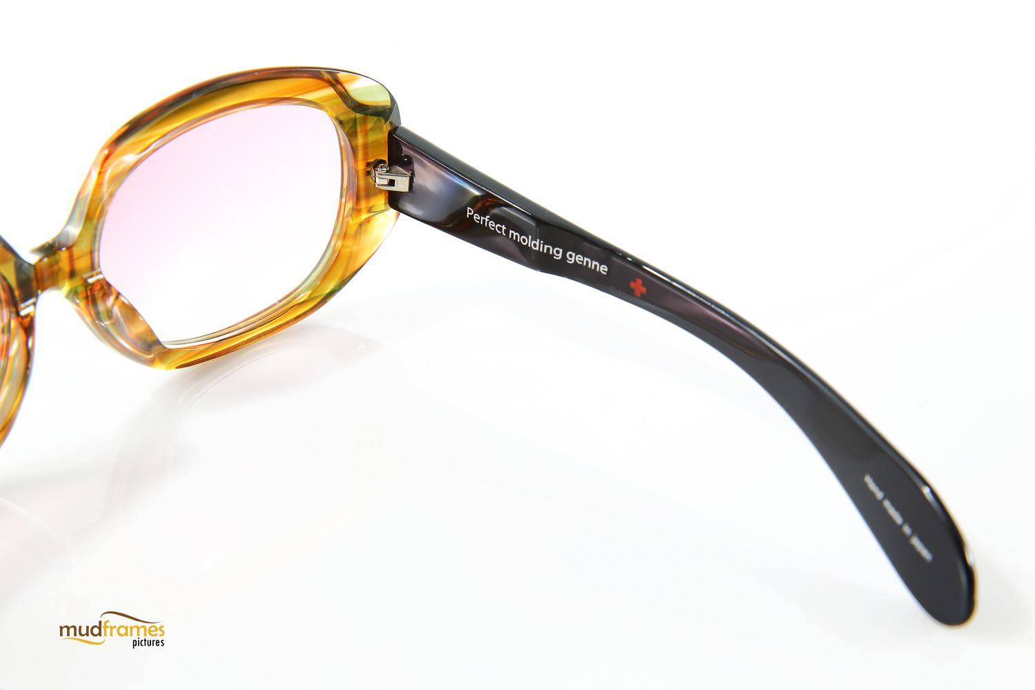 Perfect Molding Genne spectacles on white background