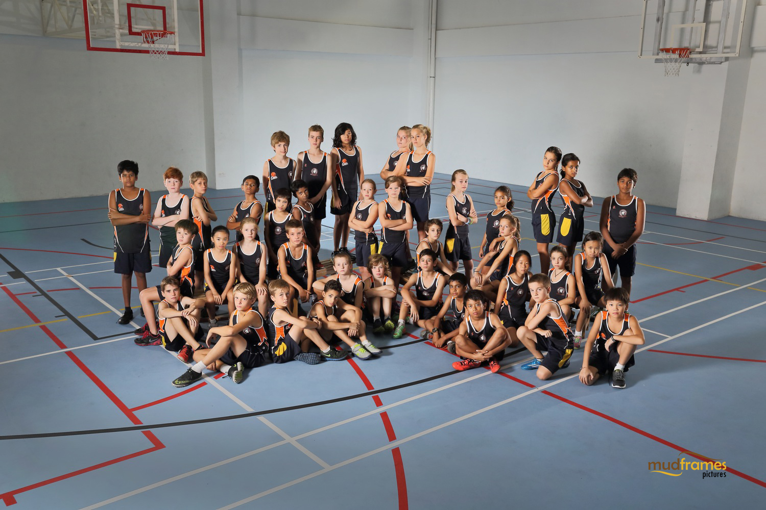 The British International School Primary Cross Country Team