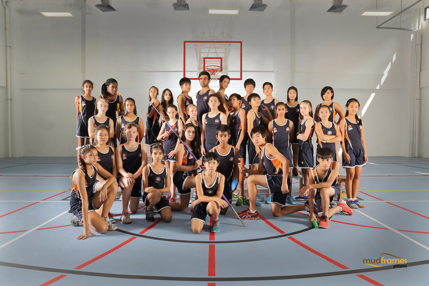 The British International School Secondary Athletics Team