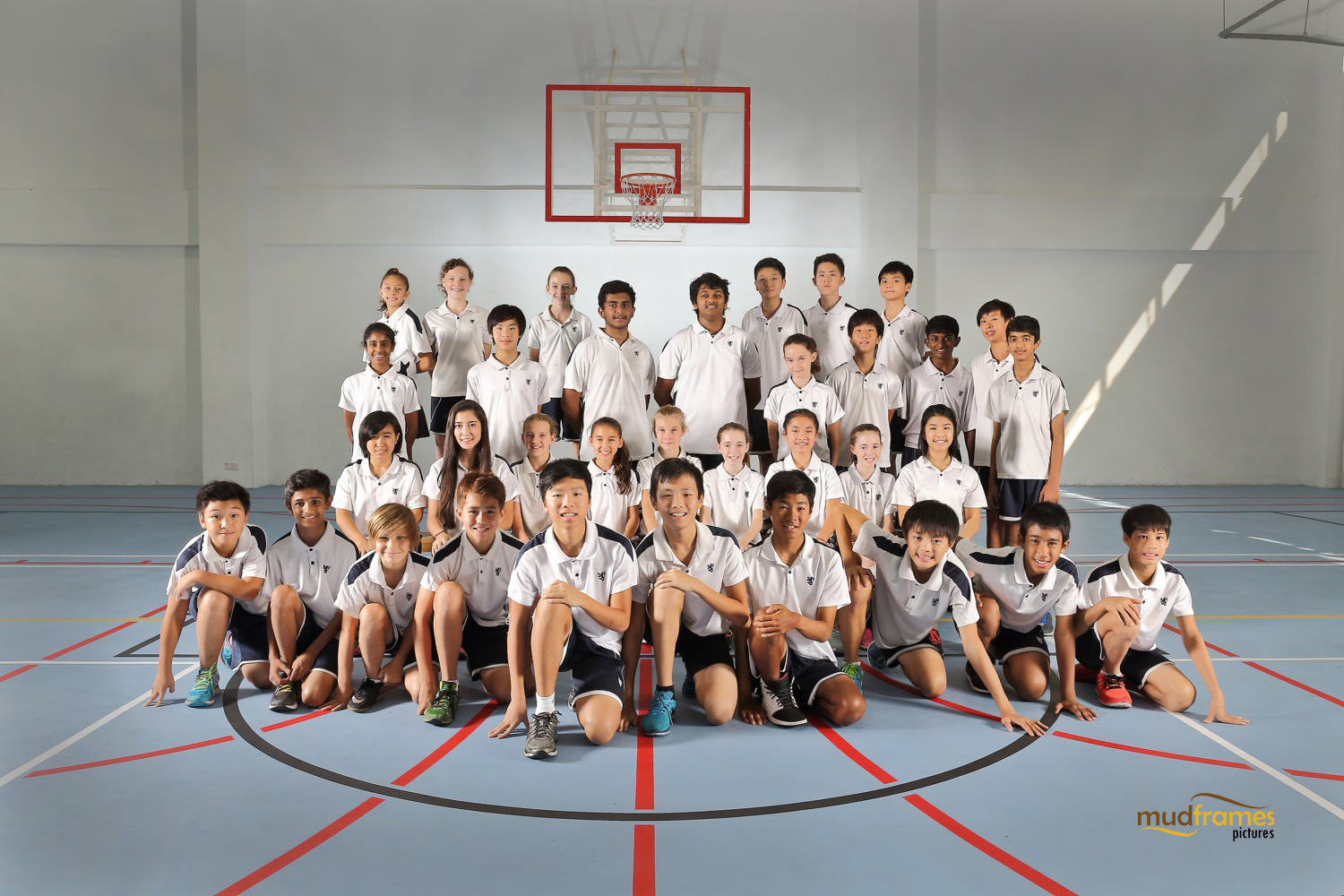 The British International School Secondary Cross Country Team