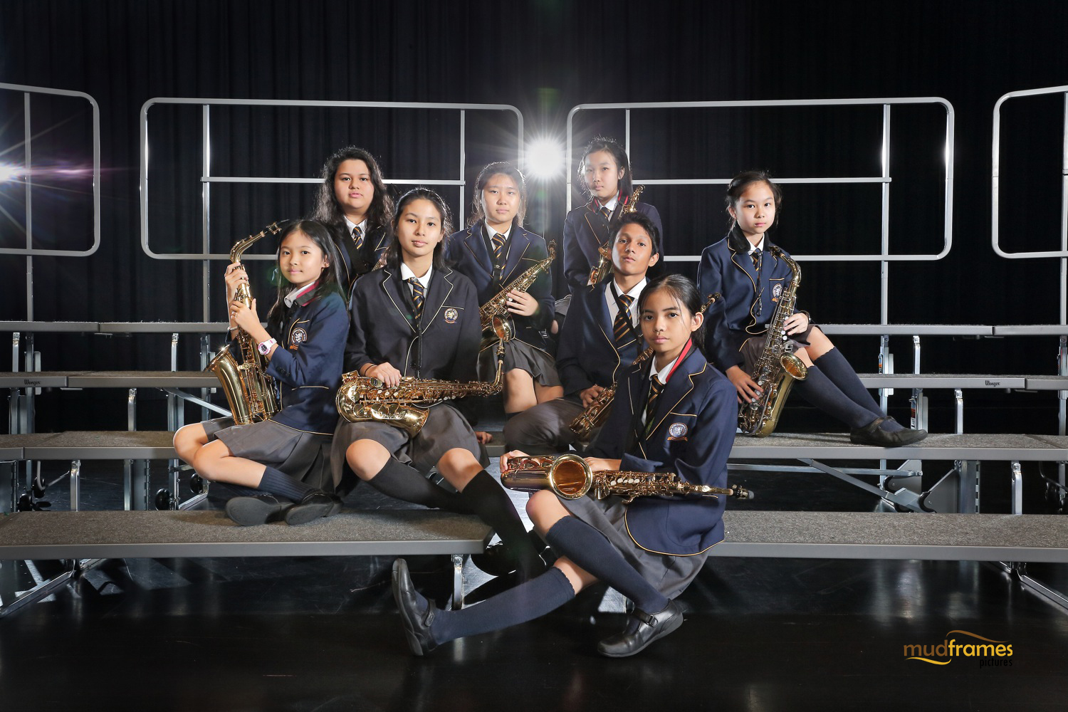 The British International School Senior Saxophone Ensemble