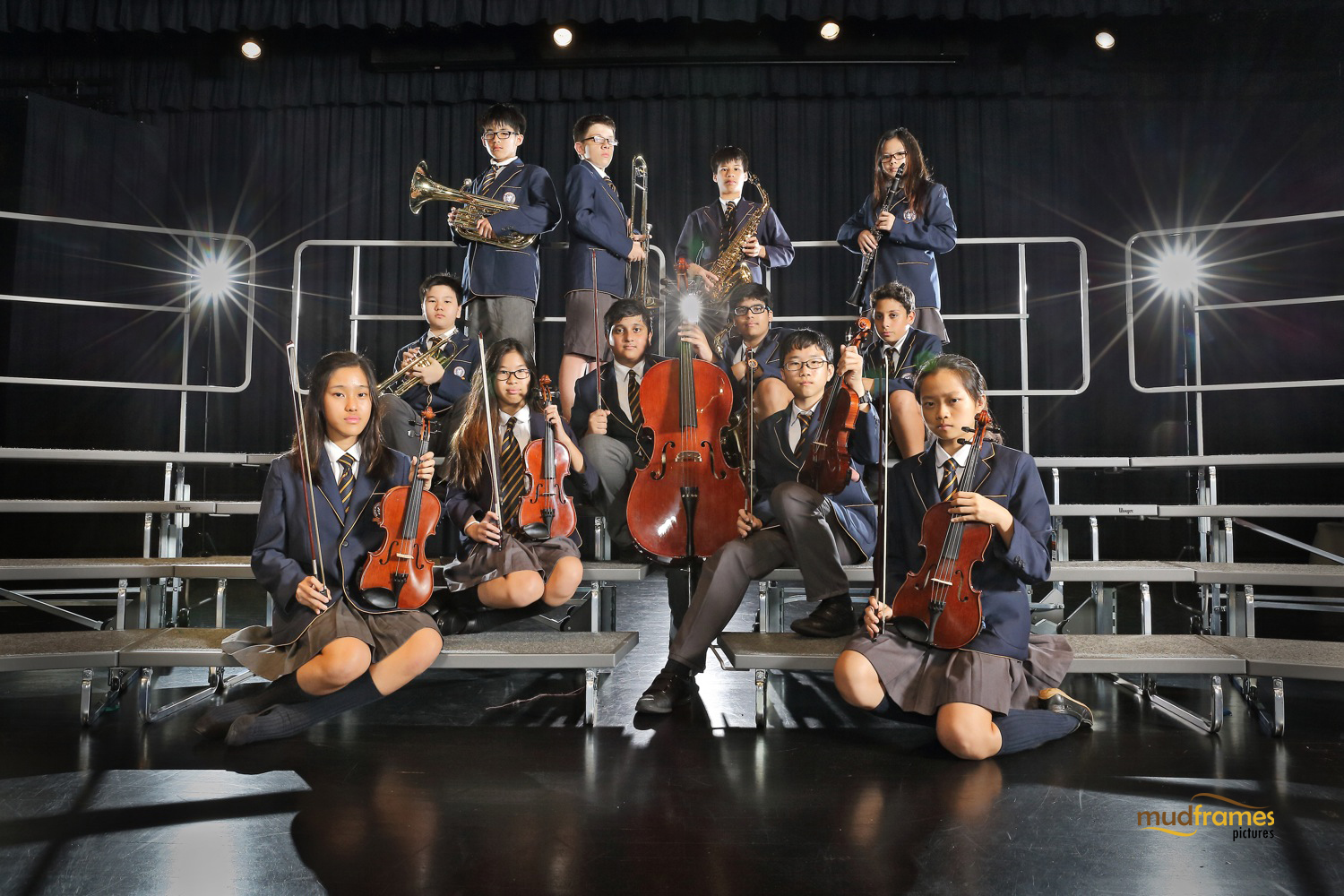 The British International School Student Musicians Group Shot