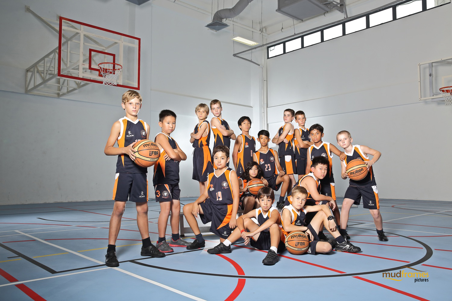 The British International School Under 11 Boys Basketball Team