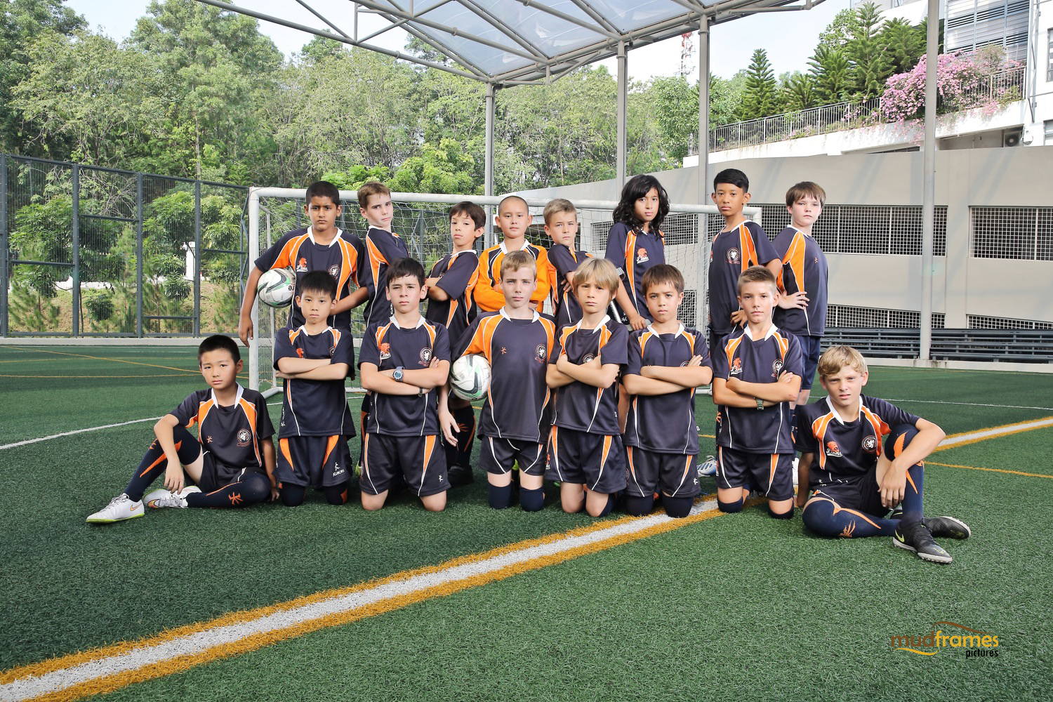 The British International School Under 11 Boys Football Team