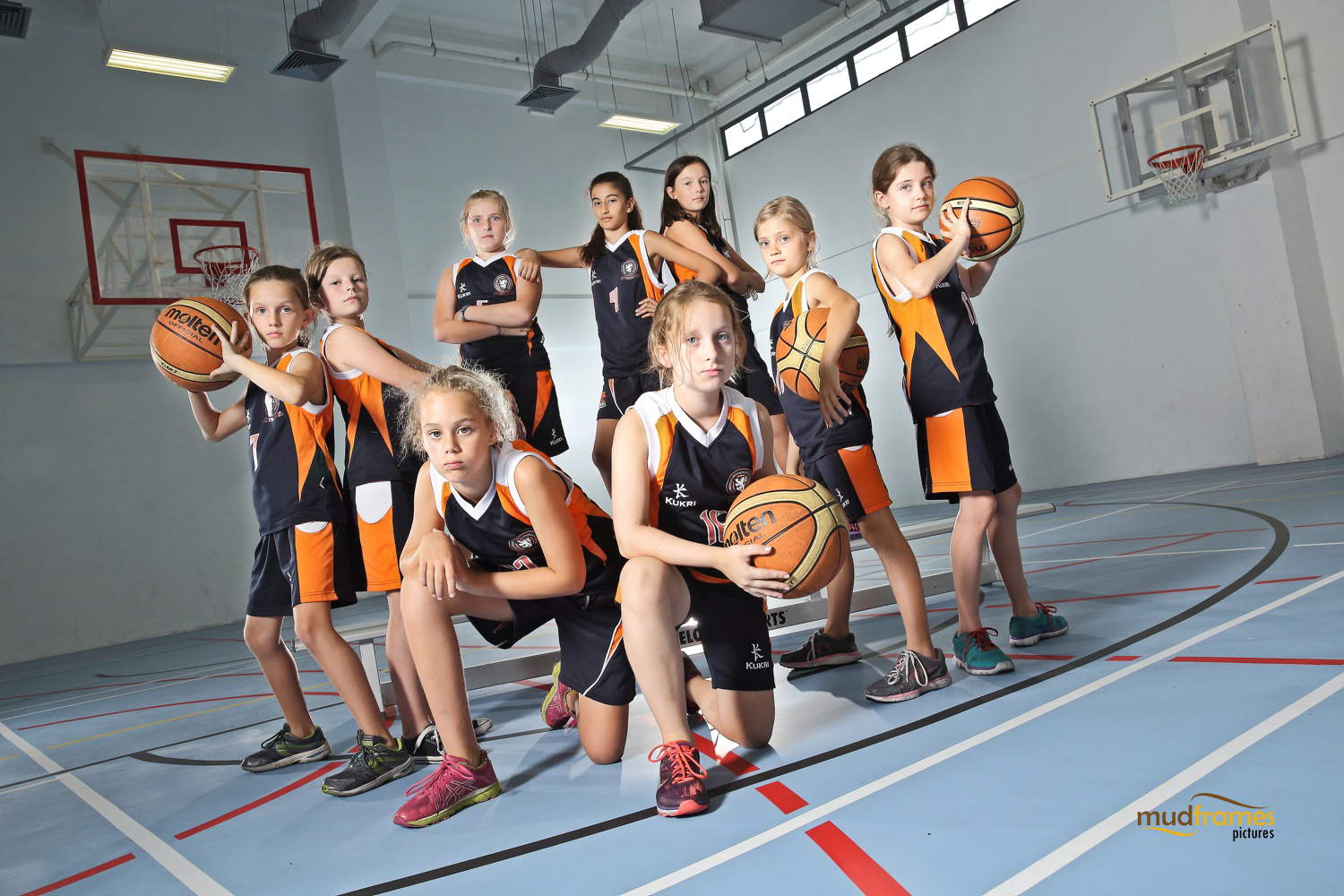 The British International School Under 11 Girls Basketball Team