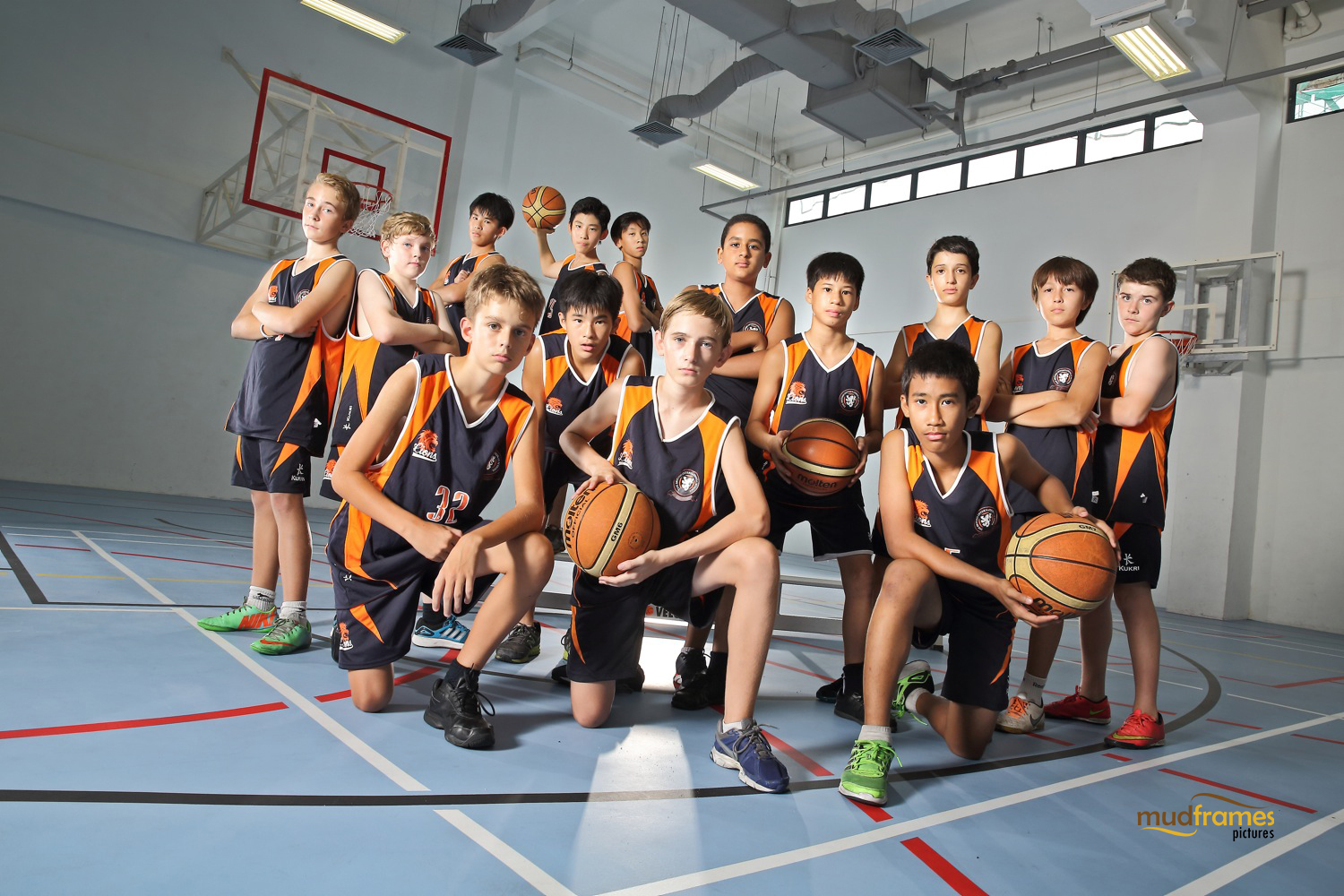 The British International School Under 13 Boys Basketball Team