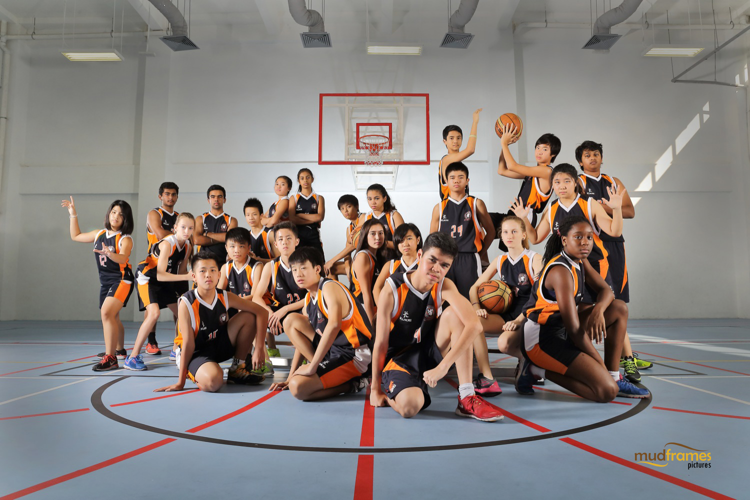 The British International School Under 15 Basketball Team