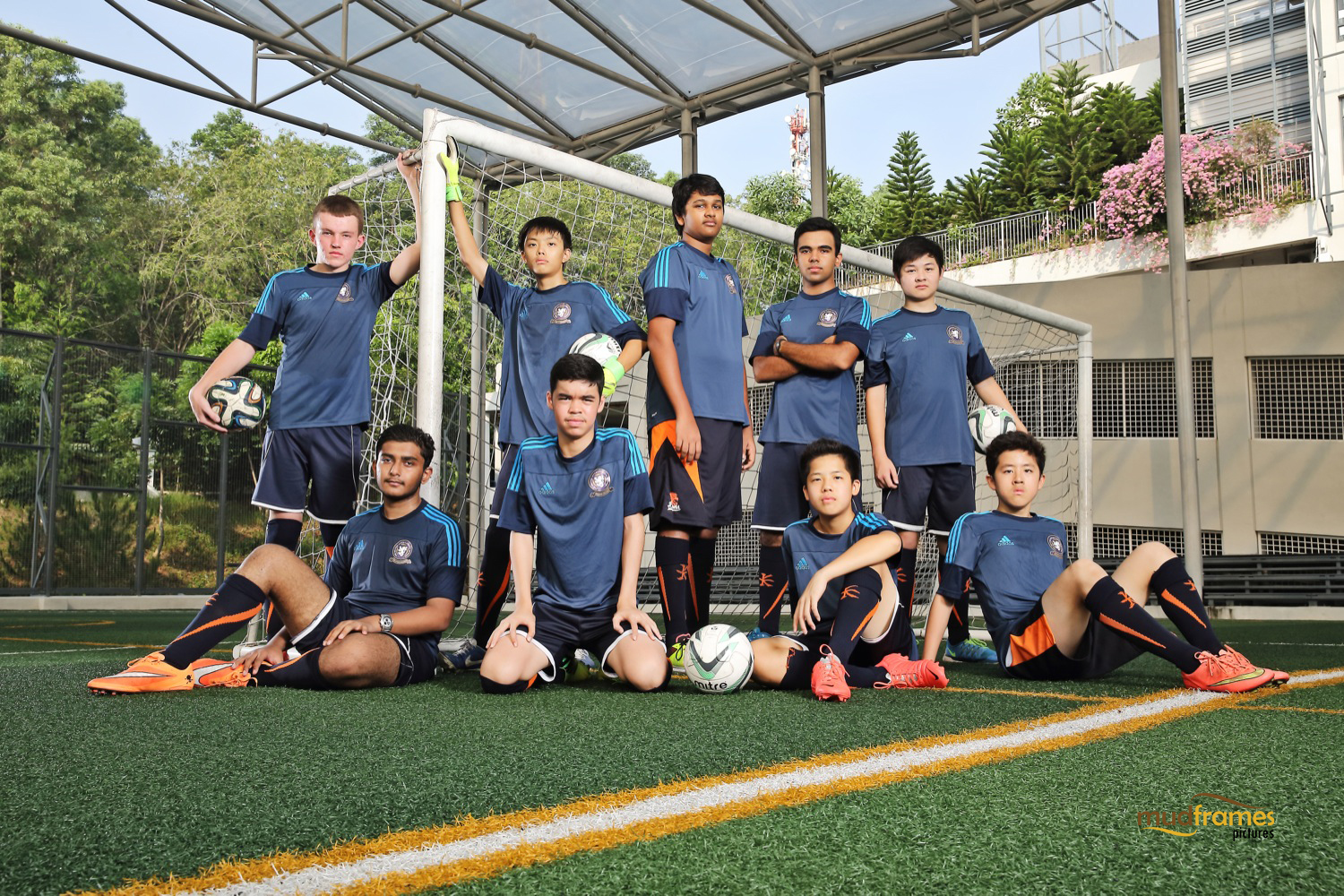The British International School Under 15 Boys Football Team
