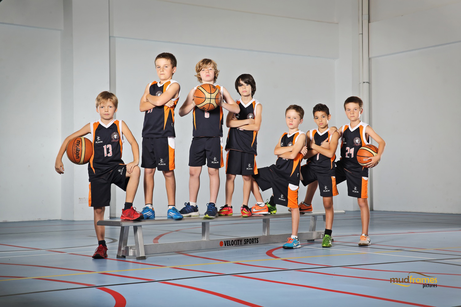 The British International School Under 9 Boys Benchball Team