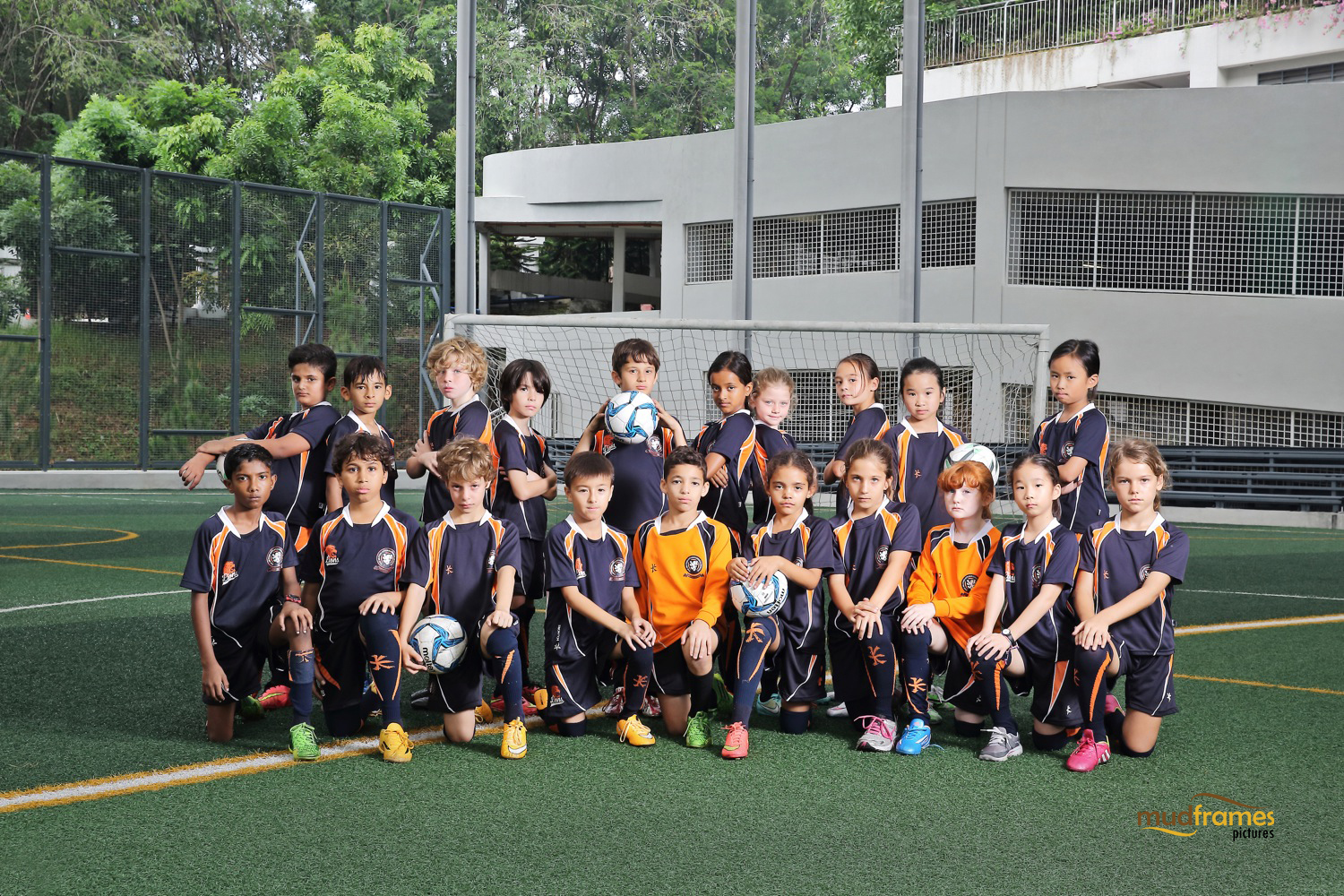 The British International School Under 9 Girls Football Team