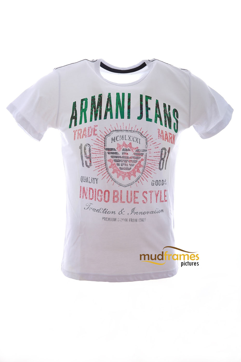 Armani Jeans T-Shirt on white background