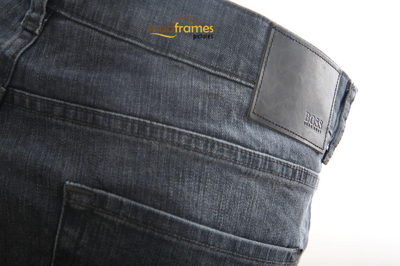 Black Hugo Boss Jeans on white background