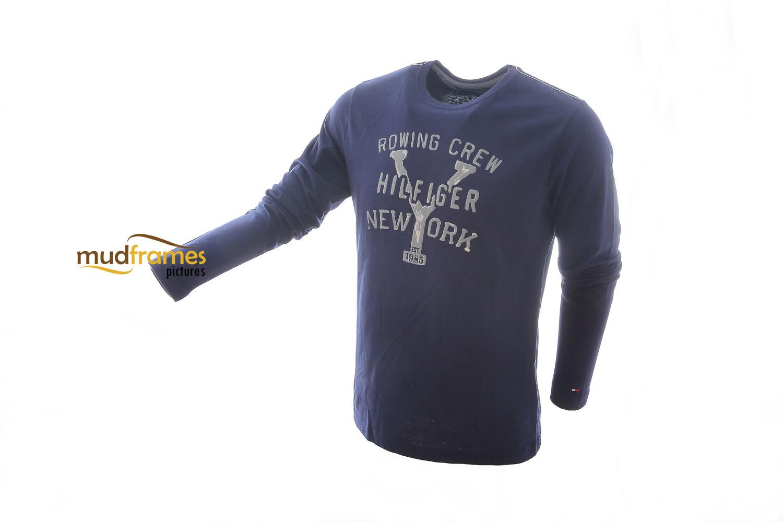 Tommy Hilfiger shirt on white background