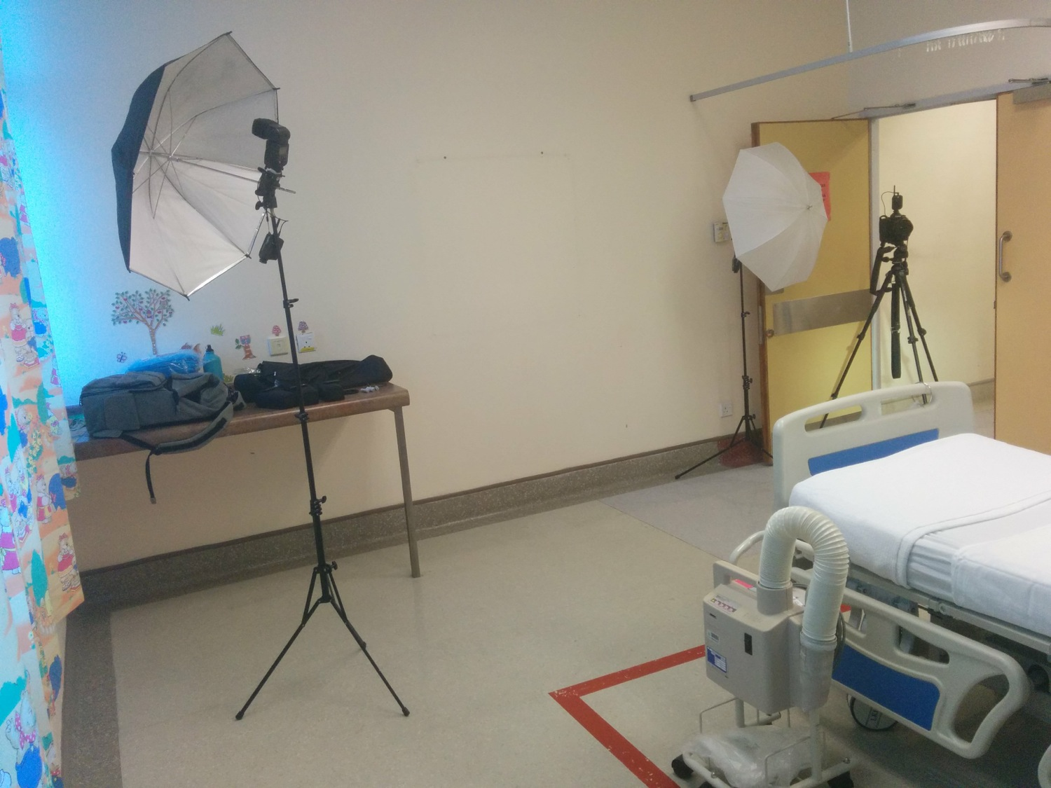 BTS: Photoshoot in Hospital Serdang