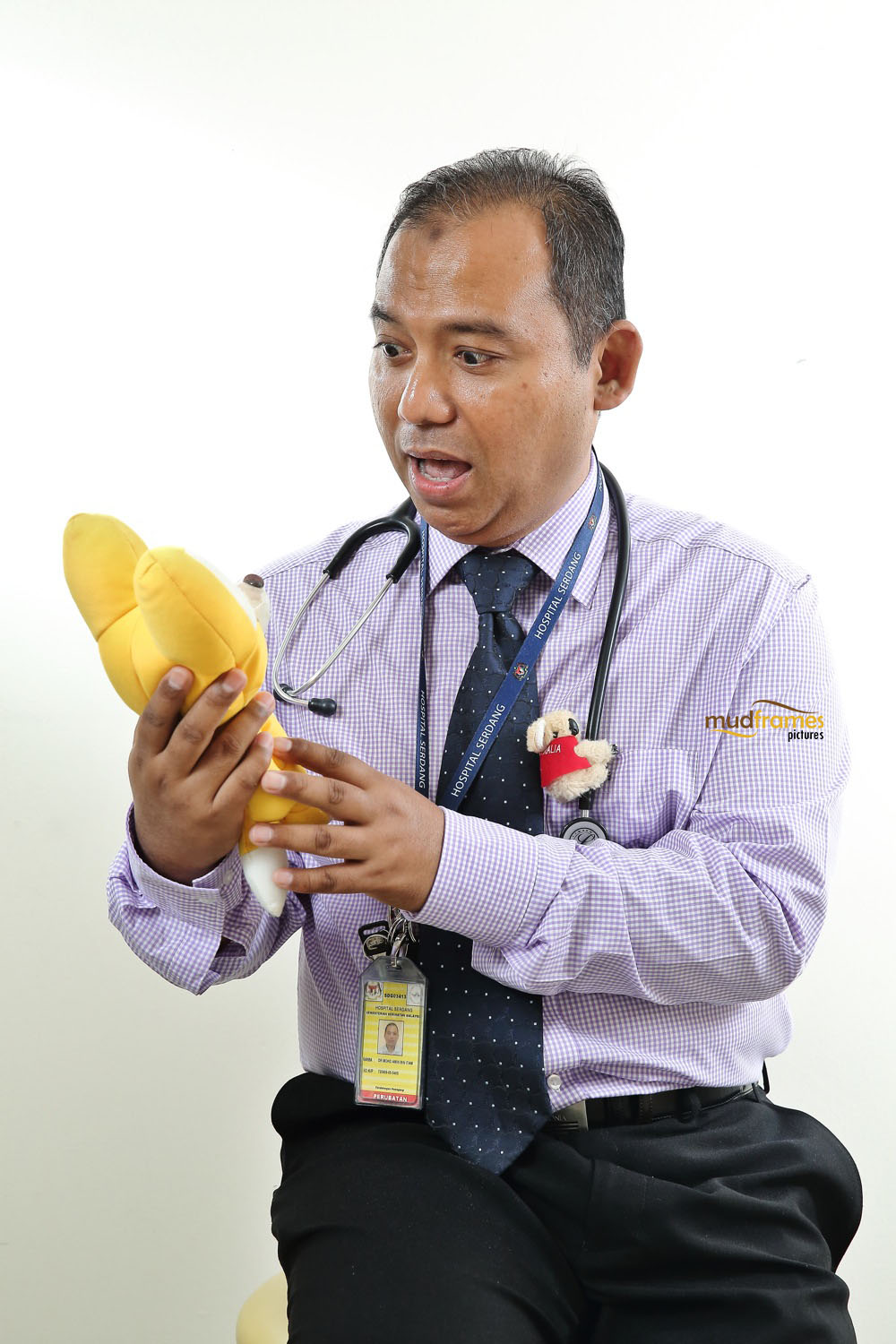 Paediatric Cardiologist of Hospital Serdang
