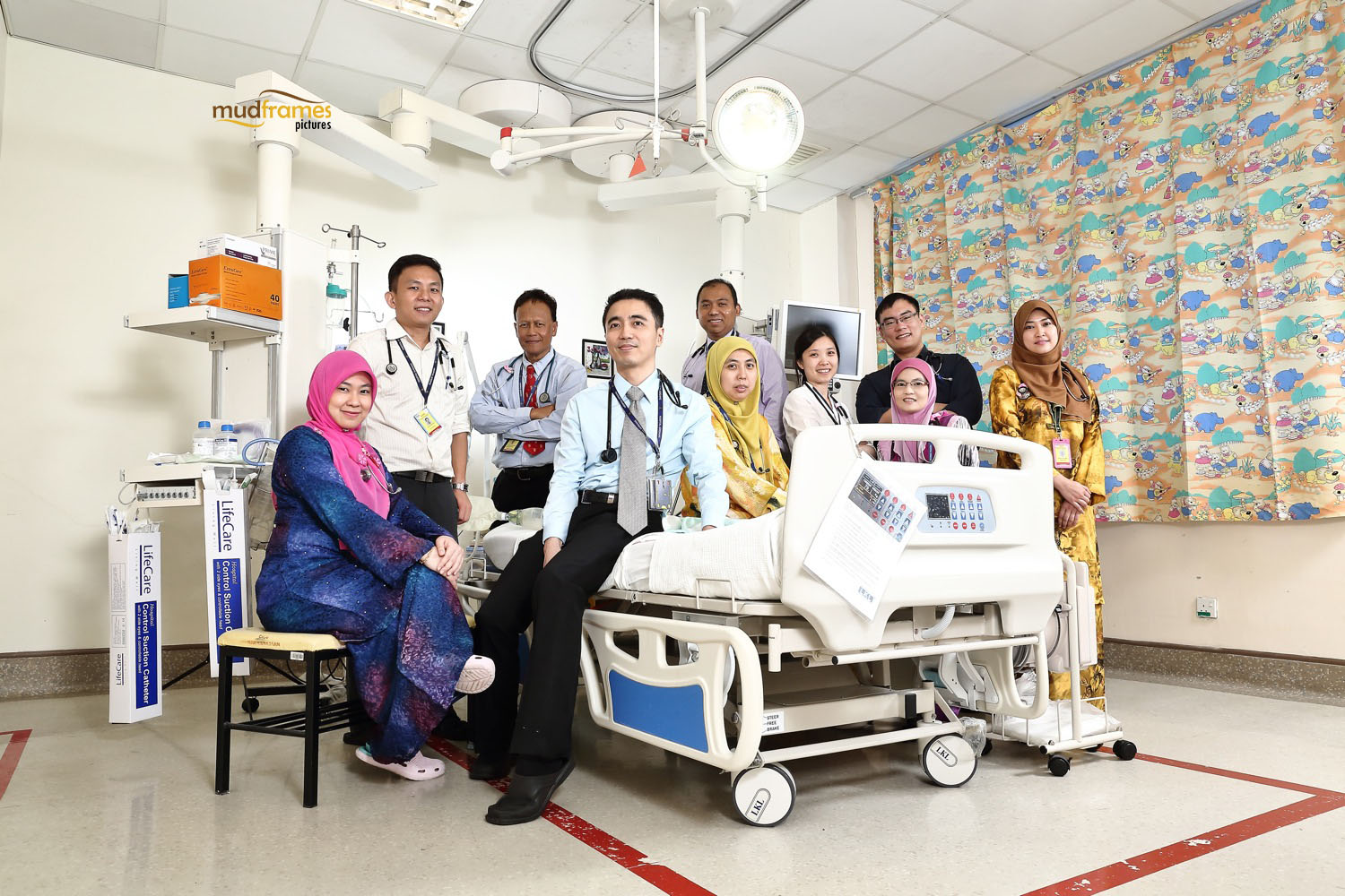 Paediatric Cardiologists of Hospital Serdang
