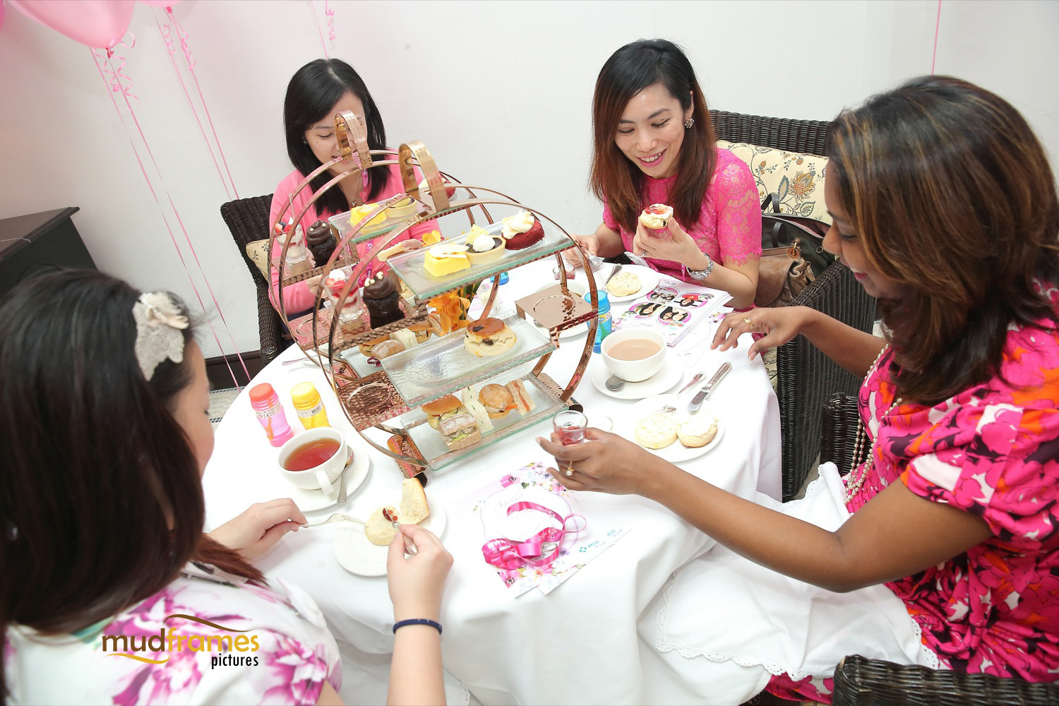 Hi-tea buffet at Majestic Hotel