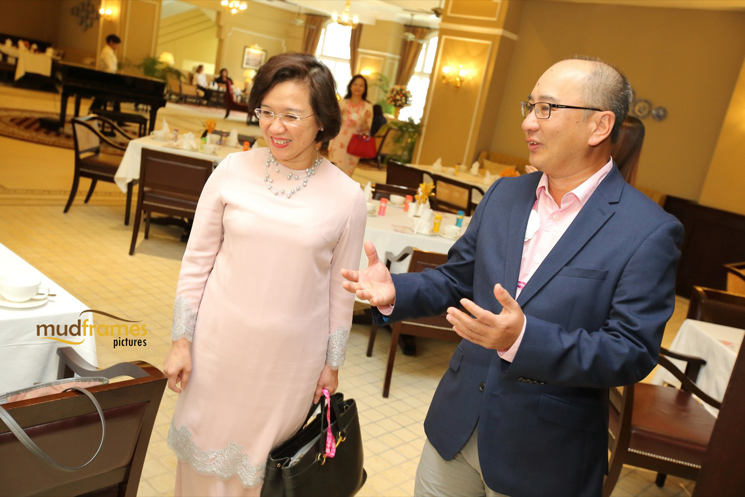 Prof Datin Dr Adeeba Kamarulzaman and Chris Tan at MSD's Merck Women's Network event