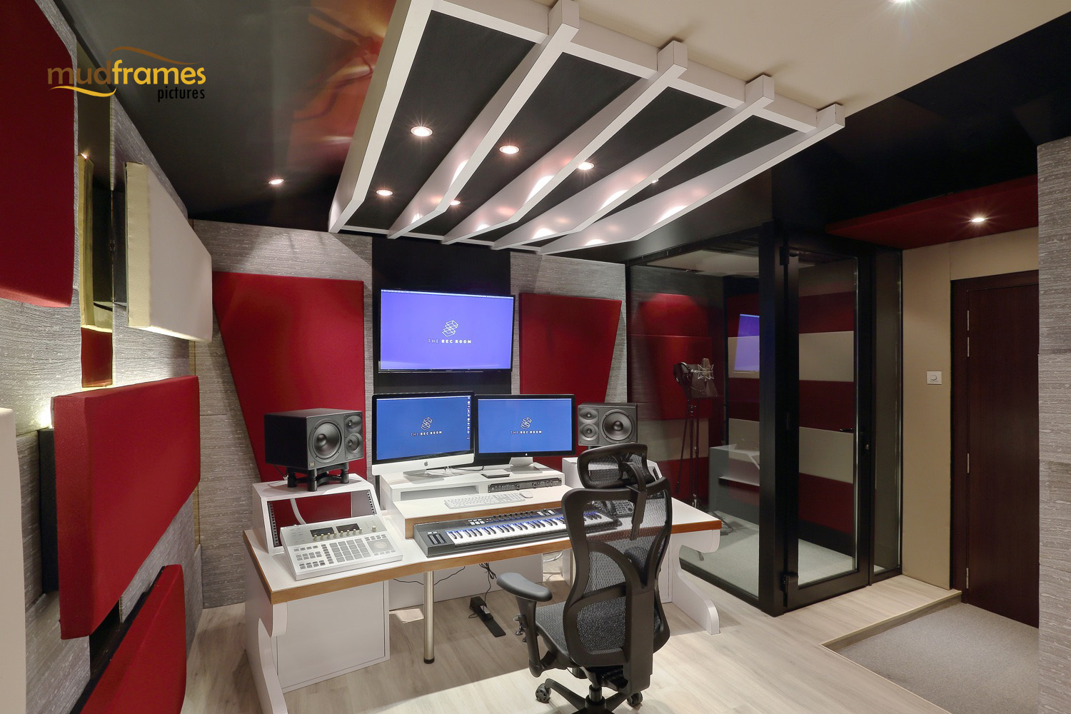 The Rec Room music sound recording studio in Jalan Beka, Damansara Heights