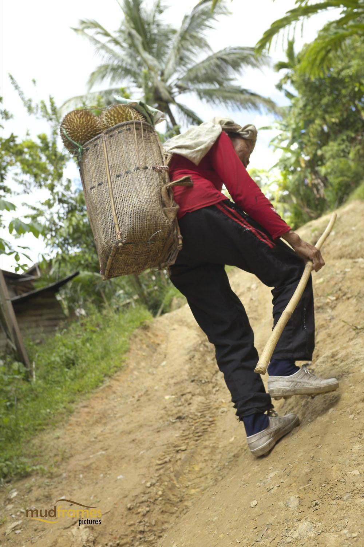 A Bidayuh from Kampung Kiding