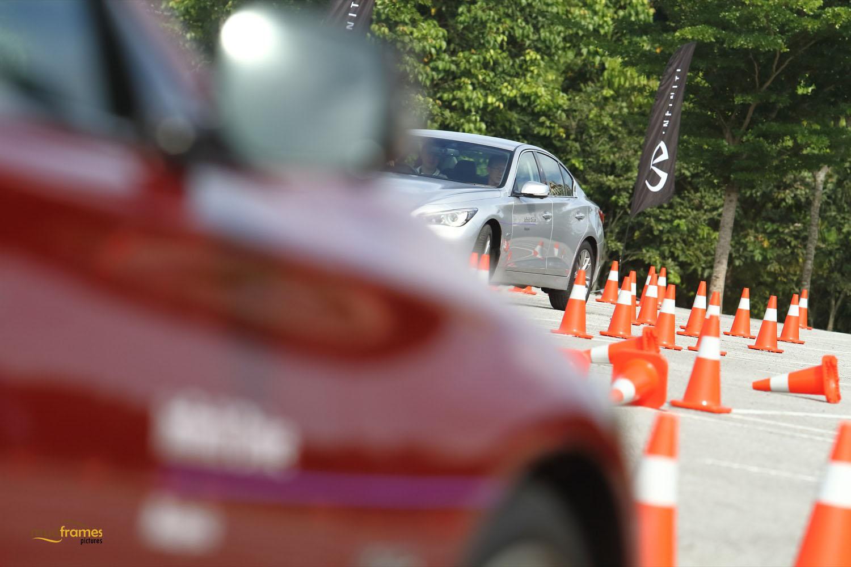 Infiniti Drive Malaysia in Desa Parkcity 2015