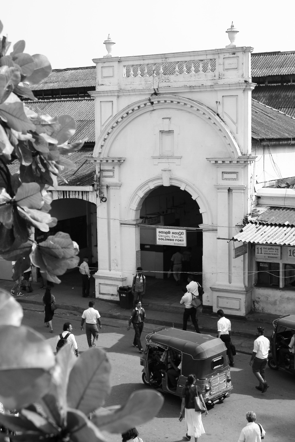 Colombo Fort Train Station, Sri Lanka