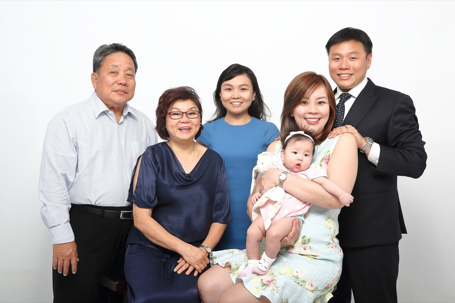 Jonathan's family photo shoot at Mudframes Pictures Studio