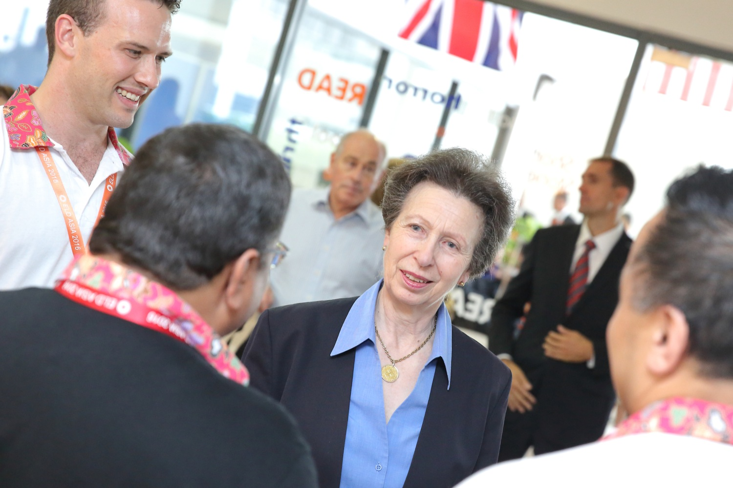HRH The Princess Royal visits the British International School, KL Malaysia