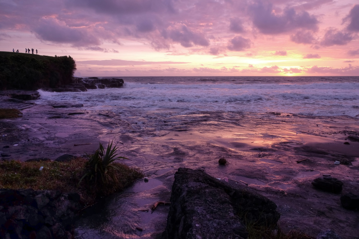 Bali beach near Tanah Lot