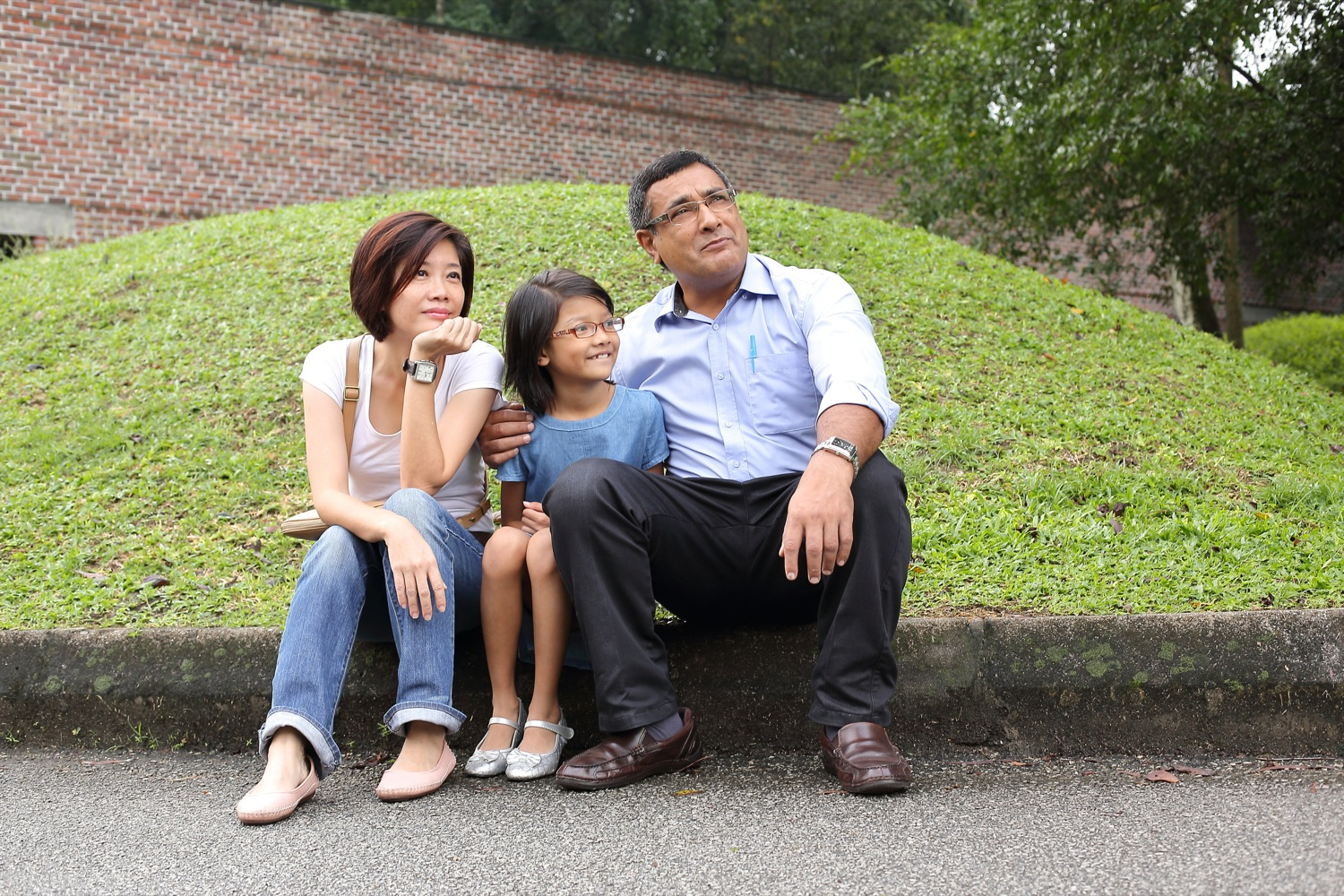 Mike Singh's family photo shoot at KLPAC