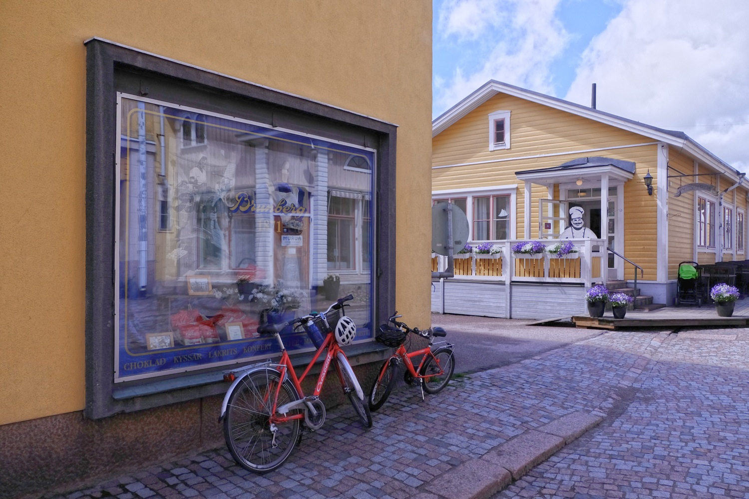 Brunberg shop at Porvoo