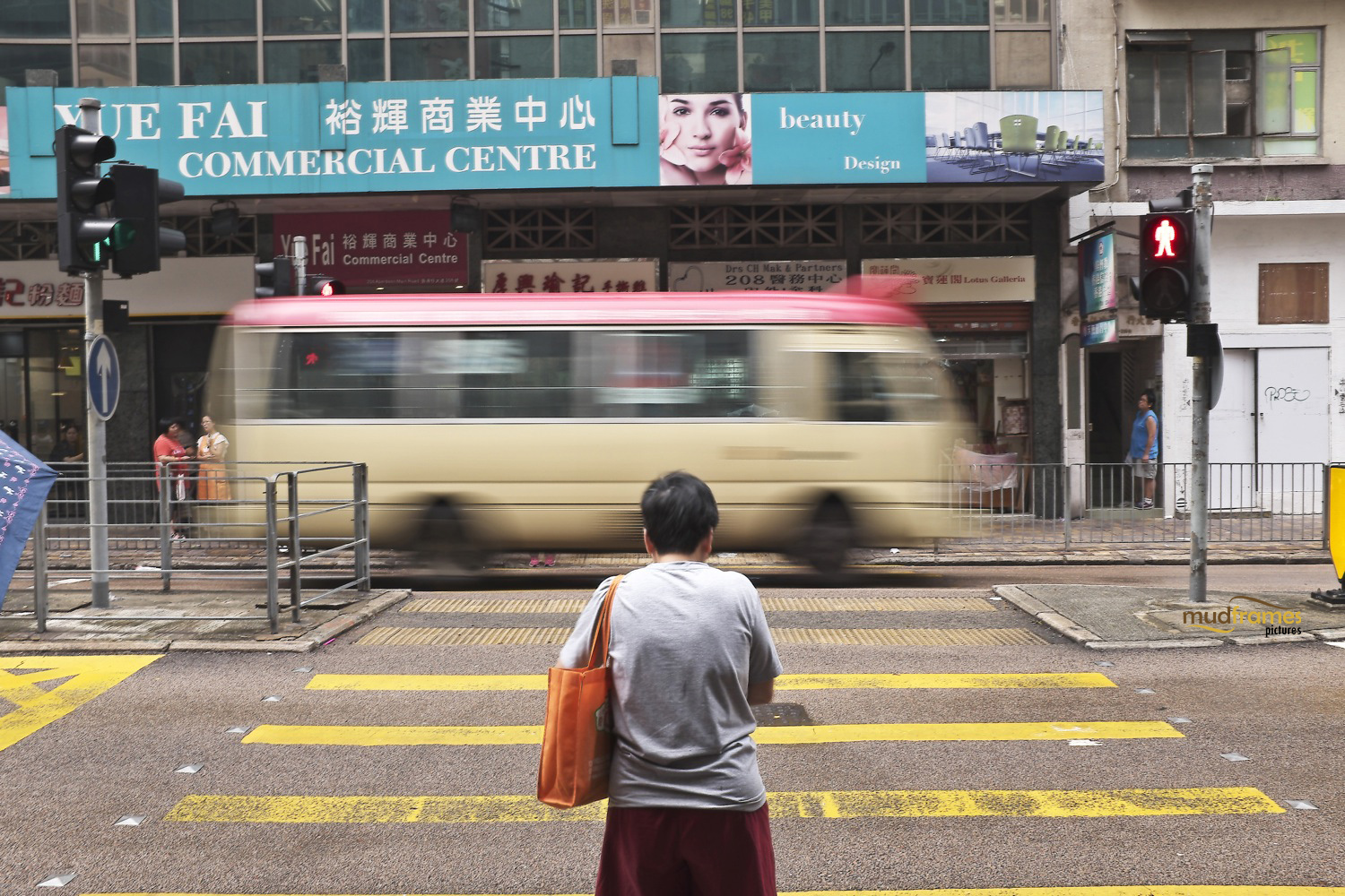 Aberdeen crossings at Hong Kong