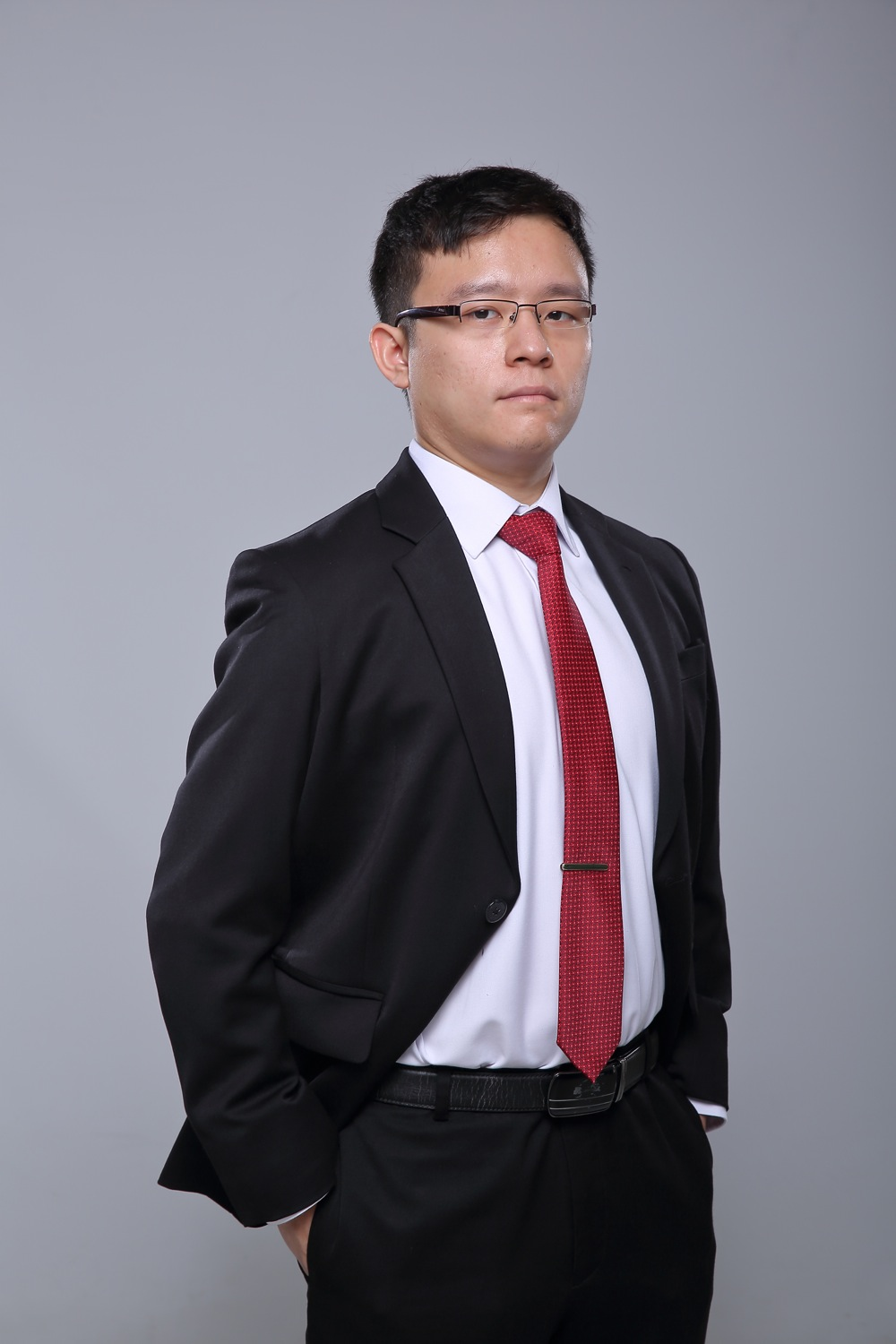 Corporate profile shot