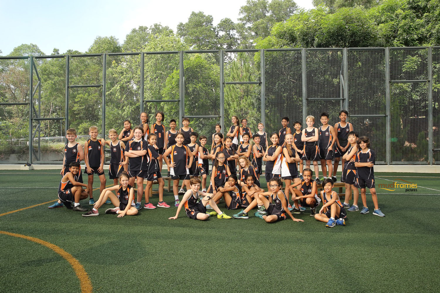 BSKL Athletics Group Shot