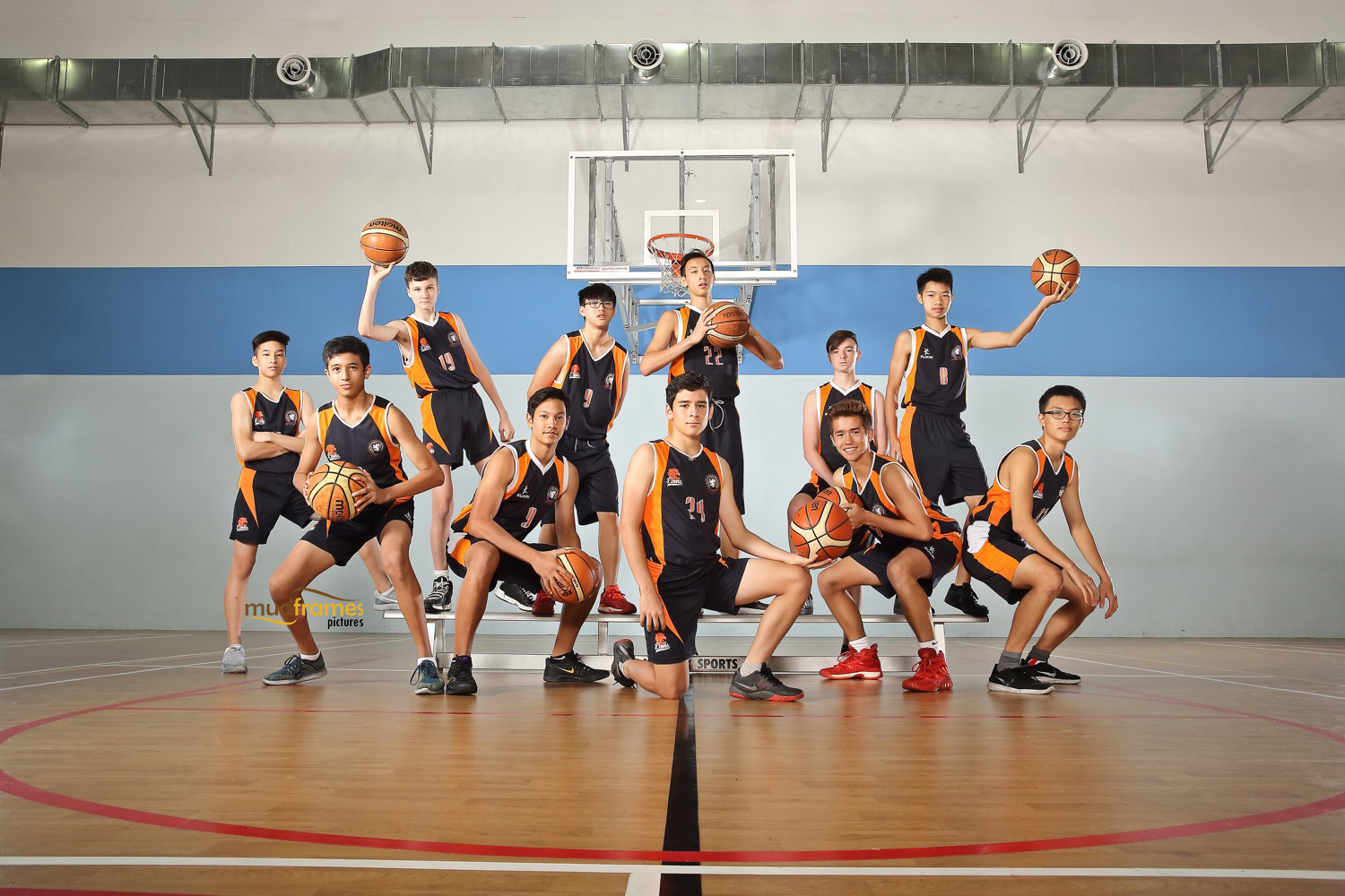 BSKL Basketball Group Shot